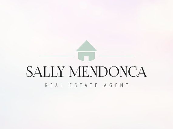 Modern Real Estate Agent Logo  Instant Download & by SoloBeeDesign