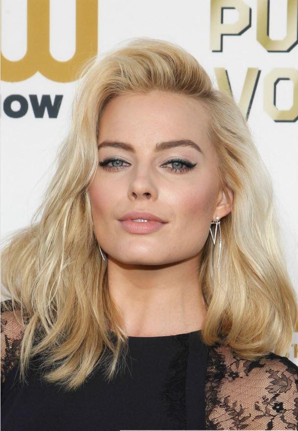 Splendid paragon of beauty Margot Robbie