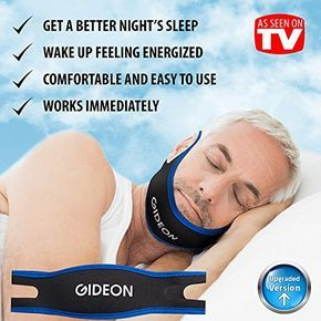 Gideon Adjustable Anti-Snoring Chin Strap - Instant Stop Snoring Solution - Natural Snore Relief - Fast and Simple [UPGRADED VERSION] - http://alternative-health.kindle-free-books.com/gideon-adjustable-anti-snoring-chin-strap-instant-stop-snoring-solution-natural-snore-relief-fast-and-simple-upgraded-version/