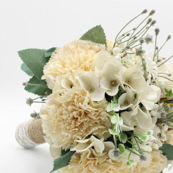 Susanna Carnation Bridesmaid Bouquet