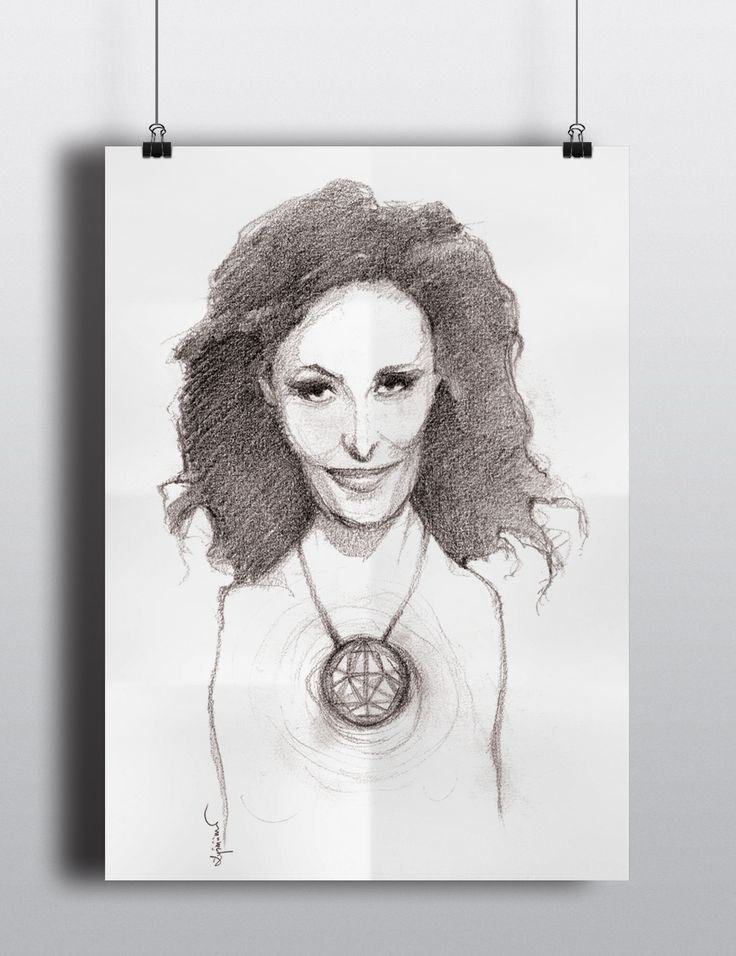 "Plakat ""Dalida"" / DALIDA - rysunek i przygotowanie plakatu."