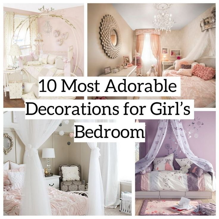 awesome 10 Most Adorable Decorations of Girl's Bedroom http://matchness.com/2018/02/22/10-adorable-decorations-girls-bedroom/