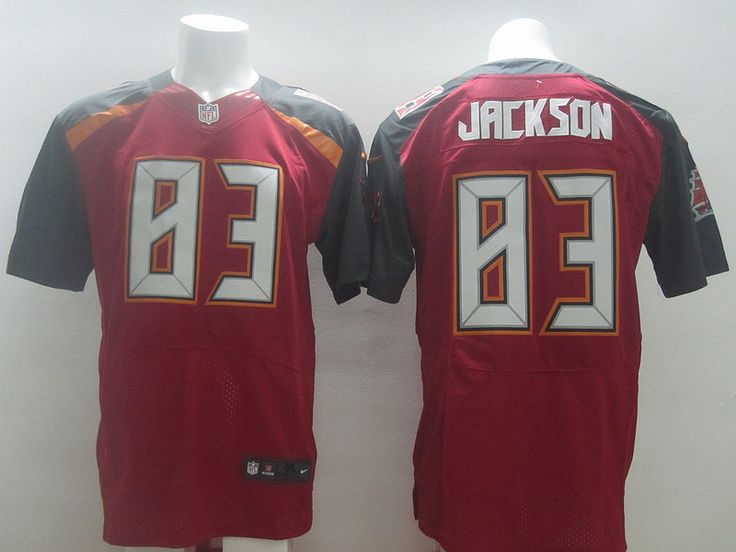 Mens Nike NFL Tampa Bay Buccaneers  83 Vincent Jackson Red Ellite Jerseys d162b2aaa
