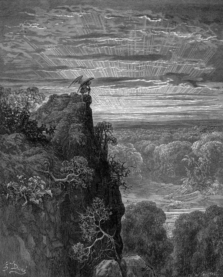 """""""Paradise Lost"""" (1866) - Gustave Doré"""