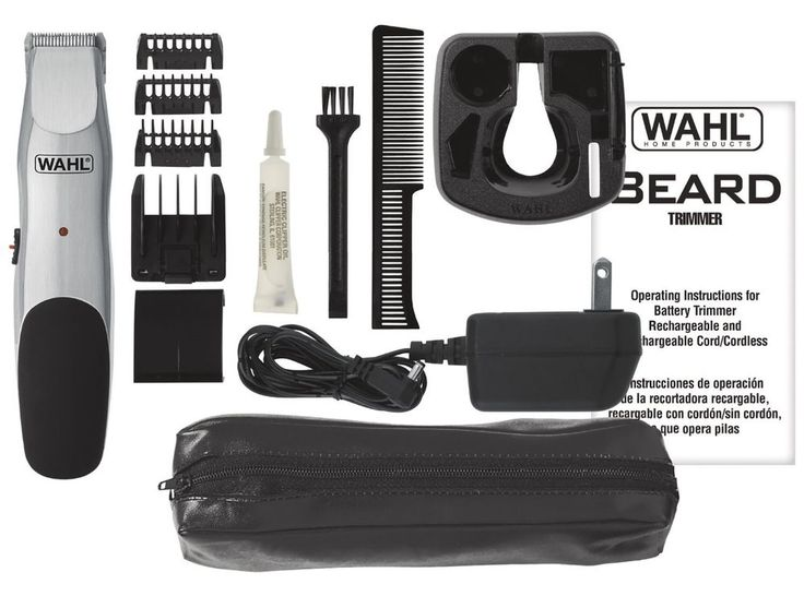 Wahl 9918-6171 Groomsman Beard and Mustache Trimmer #Wahl