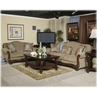 Ashley Furniture Sofas | 5730038 Ashley Furniture Signature Design  Martinsburg Meadow Sofa .