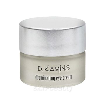 B. Kamins Diamond Radiance Illuminating Eye Cream, .5 oz B. Kamins Diamond Radiance Illuminating Eye Cream is an ultra-luxe hydrating eye cream to help boost skin renewal to markedly reduce the visible signs of aging, including wrinkles, fine lines, sagging skin and dark circles. Pure diamond powder will not only help minimize imperfections and soften skin, but will also illuminate your eyes for radiant results.
