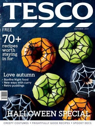 Tesco magazine - October 2017