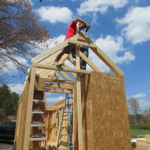 how to build a tiny house start to finish