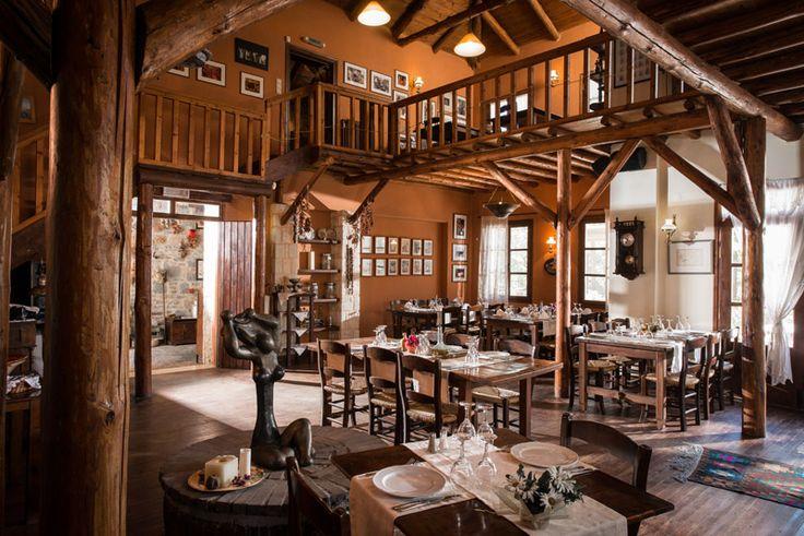 Photo from Restaurant of Enagron Ecotourism Village in Axos, Rethymno, Crete