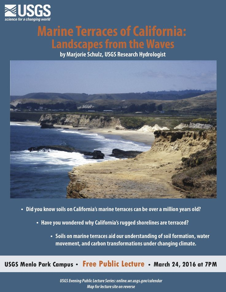 California Quake Map Usgs%0A            USGS Evening Public Lecture Series presents Marine Terraces of  California  by Majorie Schulz  Lectures are open to the public at  USGS u
