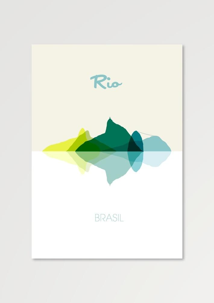 Behance :: Rio - Brasil by GERALDESIGN