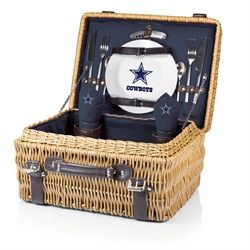 Dallas Cowboys Picnic Basket Set