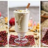 Apple Cheesecake Smoothie by The Healthy Foodie