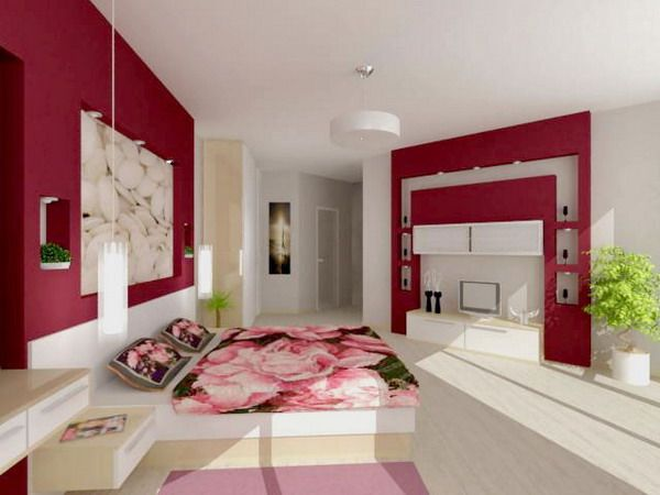 Modern Lovely Wall Murals Bedroom Decoration Modern Wall Mural Bedroom Style