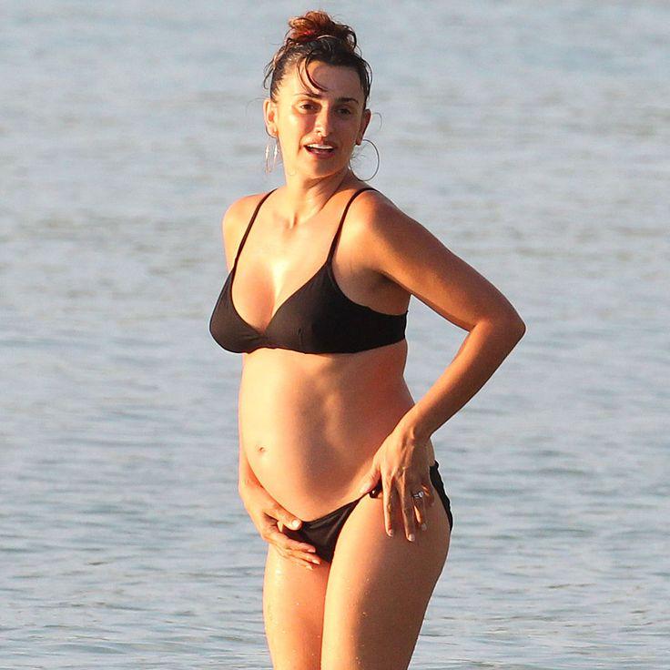 Pregnant Penélope Cruz Bares Her Baby Bump in a String ...