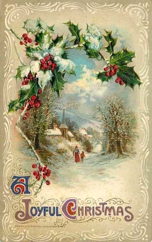 Christmas greeting postcards merry christmas and happy new year 2018 i m4hsunfo