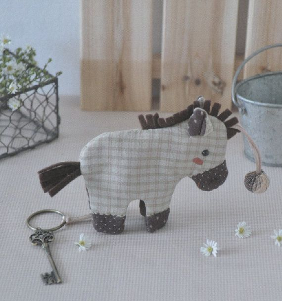 Pony key cover coverring holder