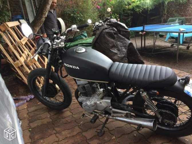 Honda cm 125 cafe racer