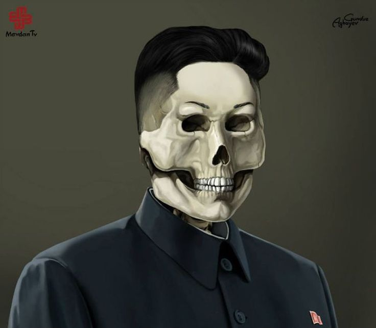 JUST LEADERS: CREEPY ILLUSTRATIONS OF NOTORIOUS LEADERS BY GUNDUZ AGAYEV