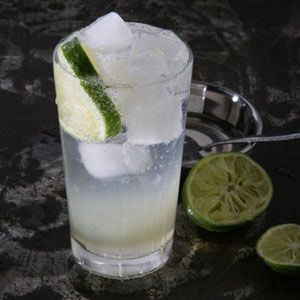 """Fresh Lime Soda by saveur: Said to be the """"ultimate quencher of colonial thirst"""" in India, this is even better with a touch of salt. #Drinks #Lime_Soda"""