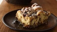 Cinnamon French Toast Bake -  This easy breakfast bake features Pillsbury refrigerated cinnamon rolls that make quick work of favorite French toast flavors.