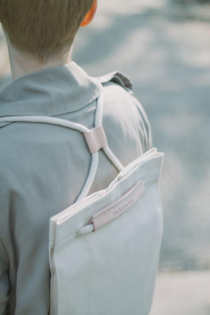 Pocket Bag Off White.