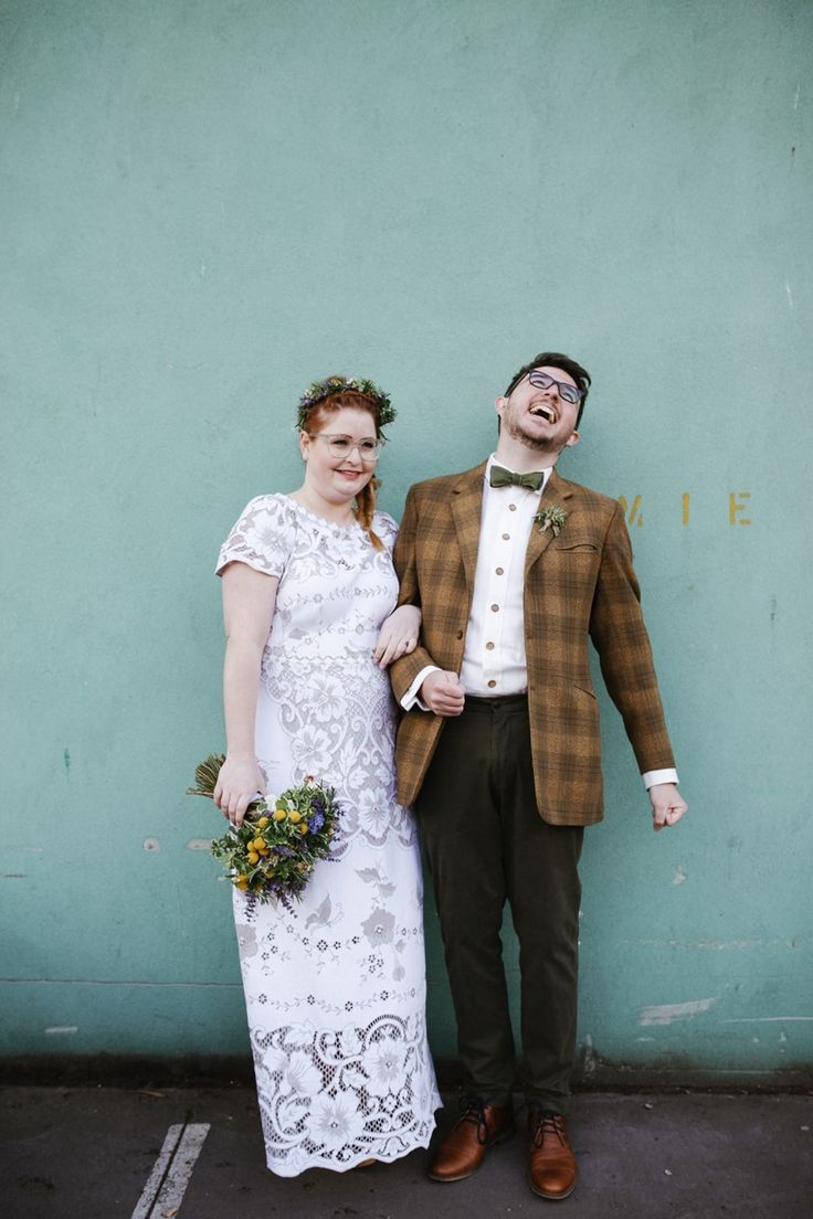 Vintage Inspired Bride & Groom