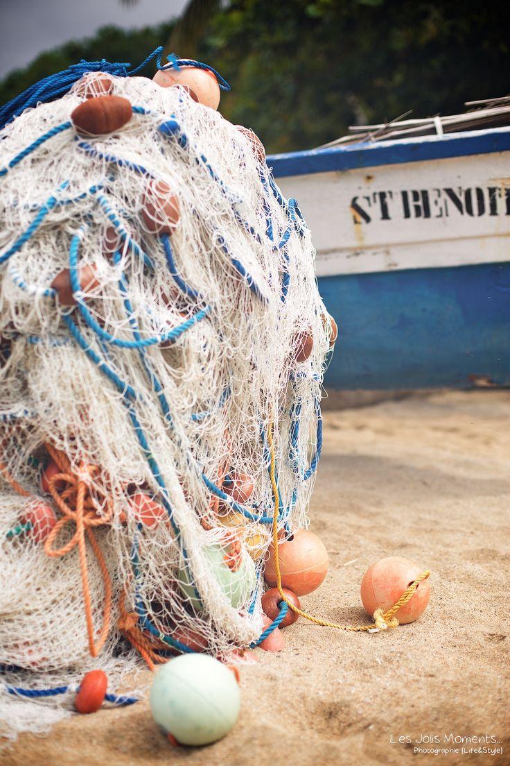 Anse Dufour, filets de pêcheur, Martinique French West Indies par www.lesjolismoments.com
