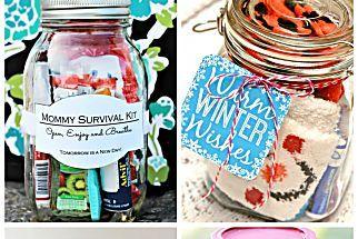 30 Gift-Worthy Mason Jar Stocking Stuffers