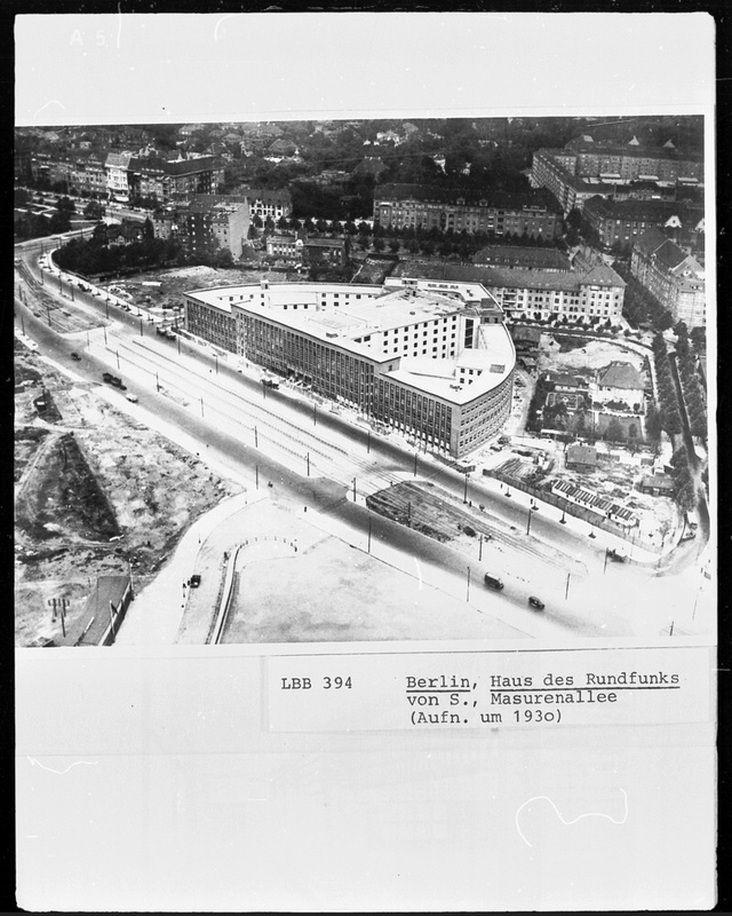 Hans Poelzig / Haus Des Rundfunks / Berlin / 1931