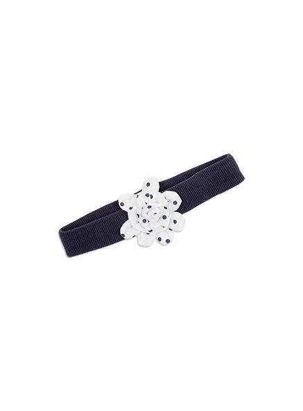 Pumpkin Patch -  - daisy headband - S5BG90005 - insignia blue - osfa