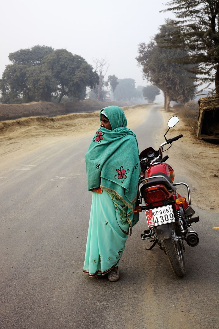 She's waiting by Christophe Prenel on 500px Around Agra, India