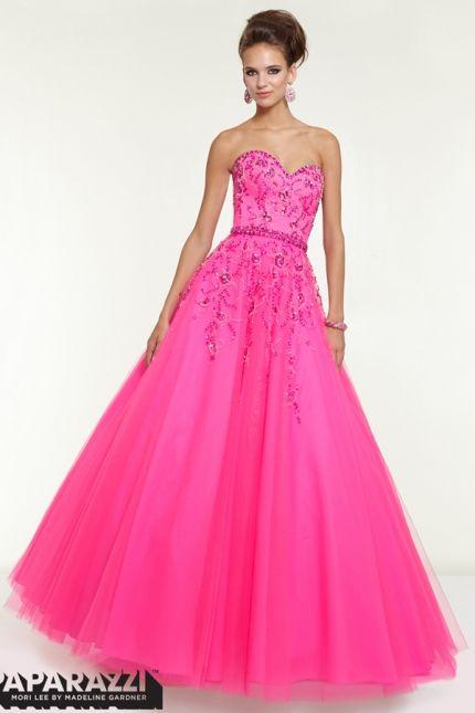16 best Hot Pink Prom Dress Trendz images on Pinterest | Formal ...