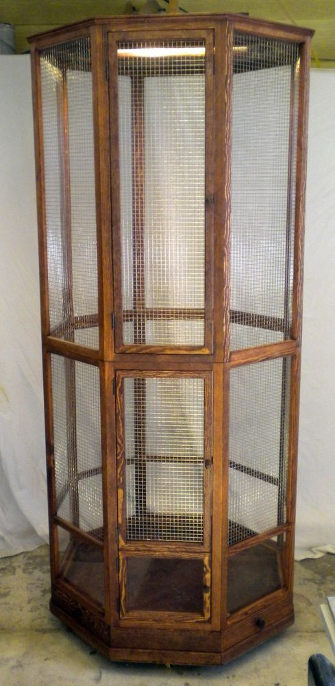 Custom Built Bird Cage - Octagon - 60