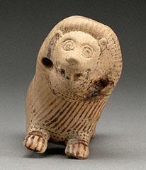 Lion Rattle, Greek, about 600-575 B.C.