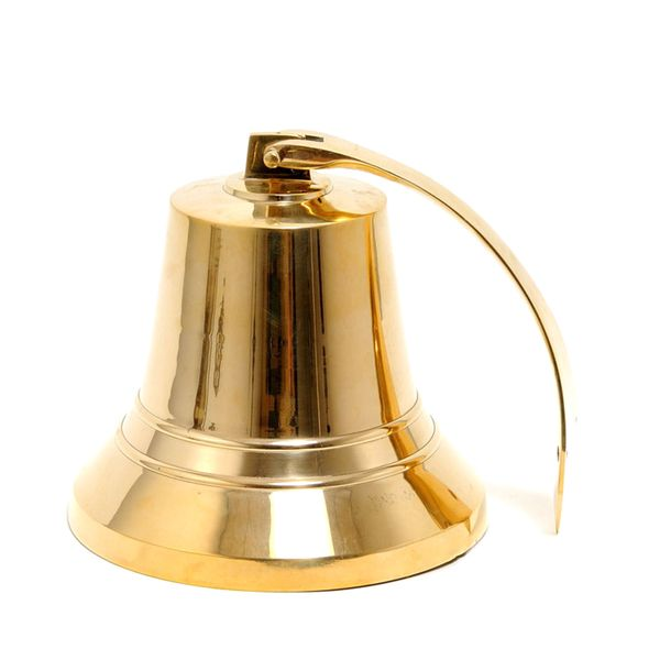 Old Modern Handicrafts 10-Inch Brass Ship Bell | Overstock.com Shopping - The Best Deals on Accent Pieces