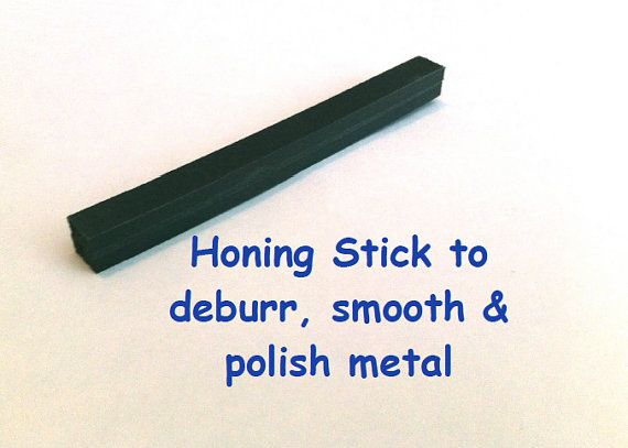 Honing Stick to Deburr Smooth and Polish Metal by TreadleLady, $7.50