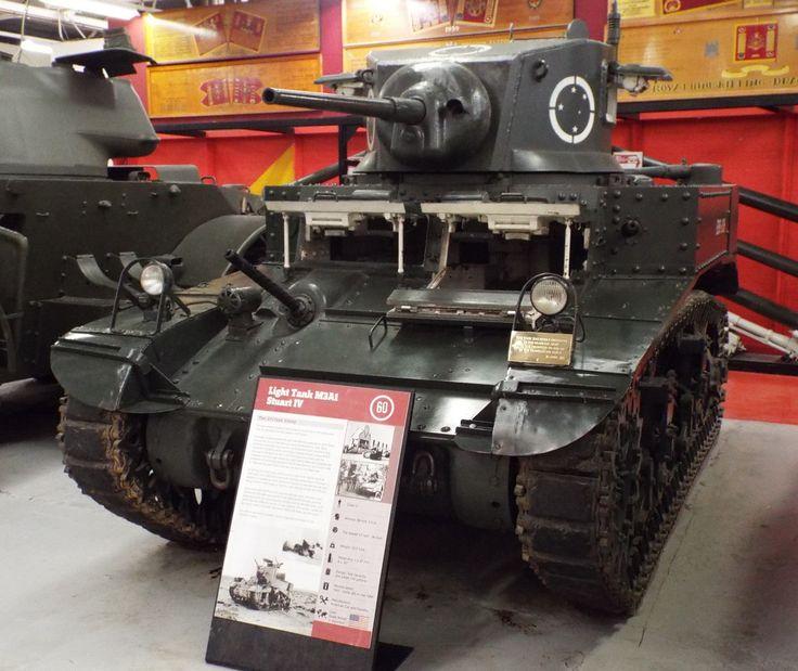 US Light Tank M3A1 Stuart IV 1941-75 Tank Museum Bovington
