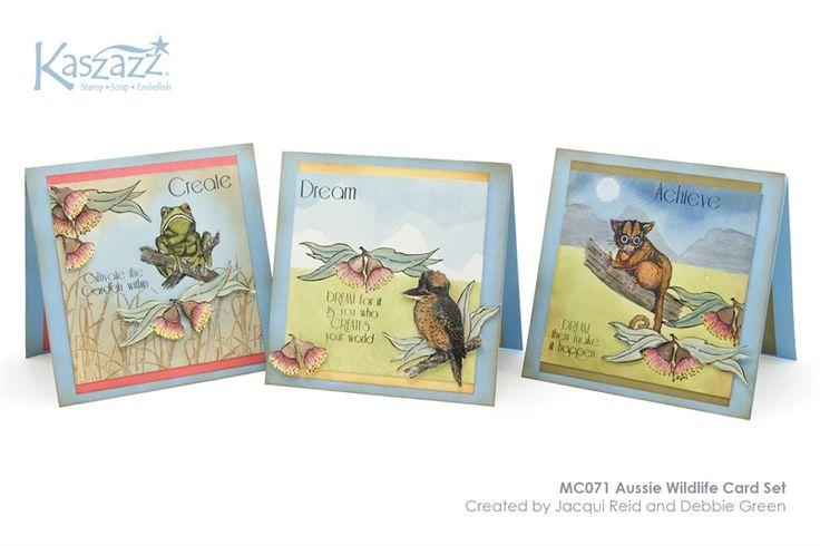 MC071 Aussie Wildlife Card Set