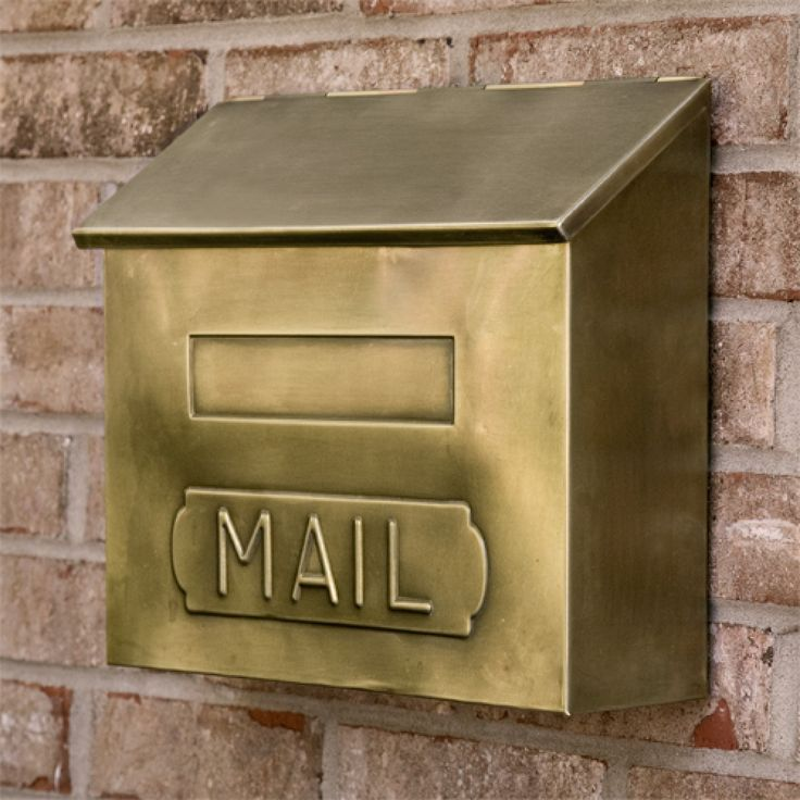 Best 25 Wall Mount Mailbox Ideas On Pinterest Stainless