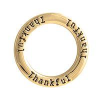 Gold Thankful