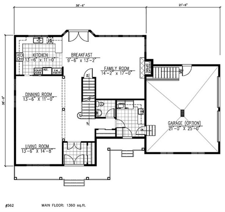48 best house plans for family images on Pinterest | Small houses ...