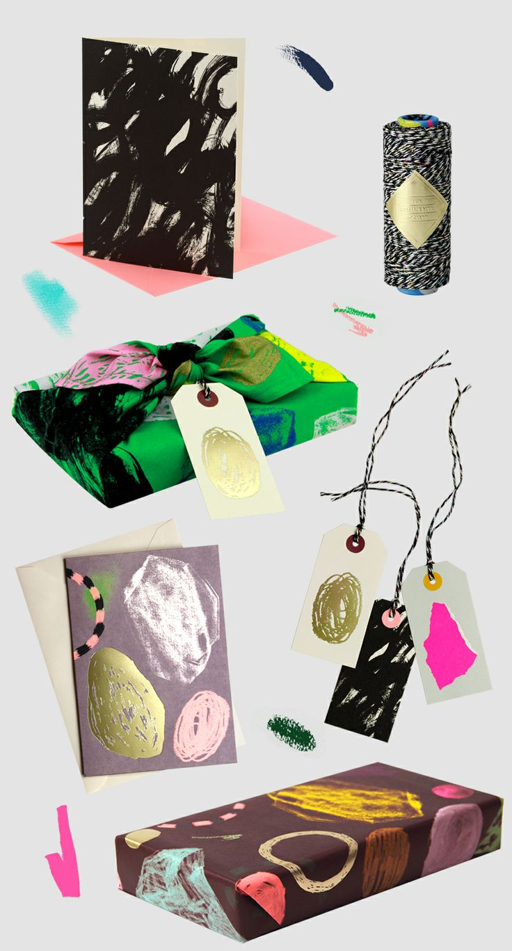 New stationary and wrapping by The Souvenir Society via thedesignfiles.net