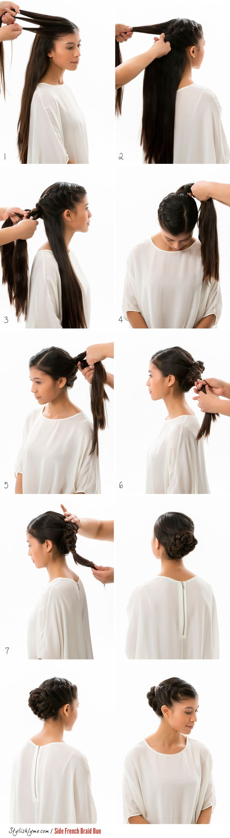 The 25 best side french braids ideas on pinterest french braid the 25 best side french braids ideas on pinterest french braid buns french braided ponytail and braid ponytail ccuart Images