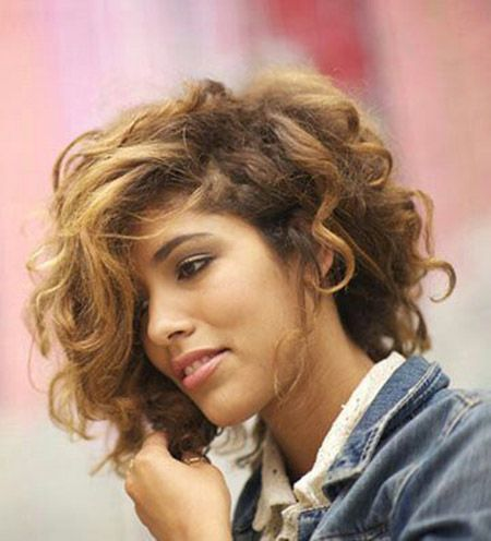 17 Best Ideas About Short Curly Haircuts On Pinterest