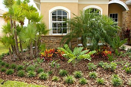 Photo Of Front Yards With Planted Beds Florida Landscape