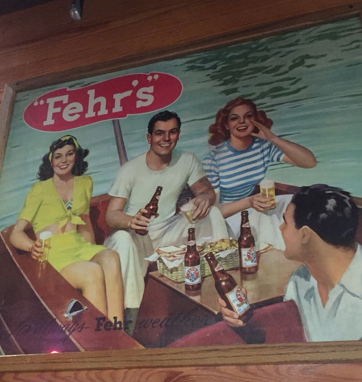 FEHR'S Beer Sign