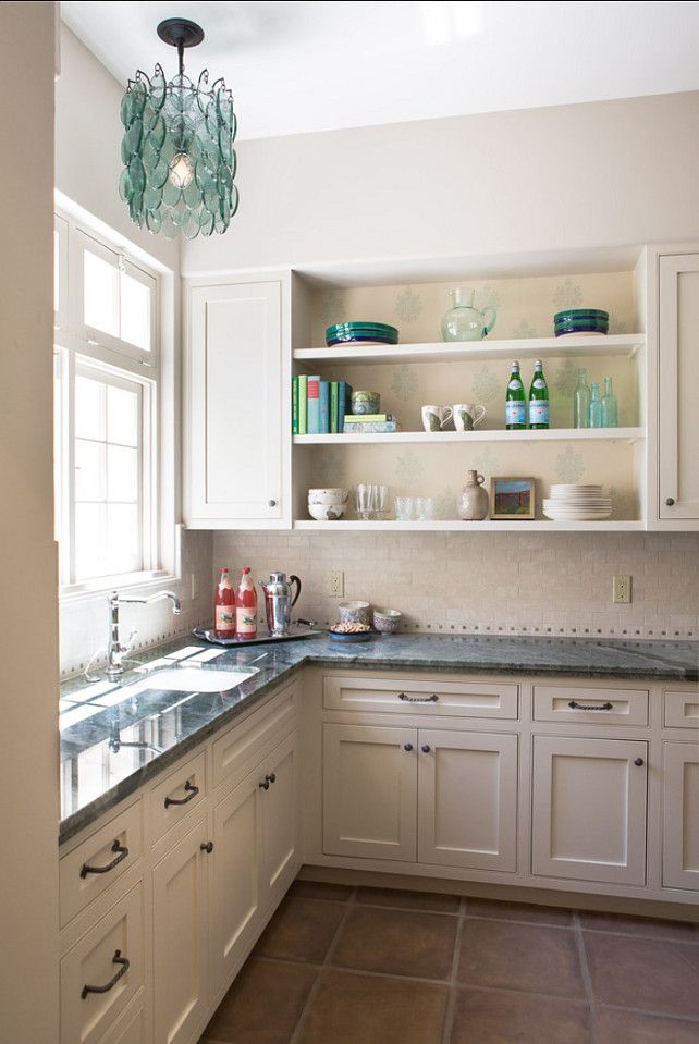 Cute Lamp Above Sink Benjamin Moore Paint Color. Off White Kitchen Cabinet  Paint Color.