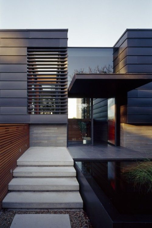 1000 images about external wall cladding on pinterest for Modern zinc houses